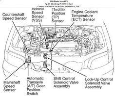 1992 Honda Accord Transmission Shifter Wiring Diagram