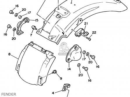 1993 Yamaha Xv535 Virago Wiring Diagram