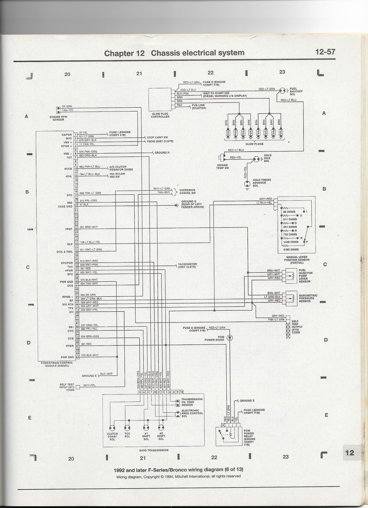 hight resolution of powertrain transmission e40d wiring diagram 4r70w transmission e4od wiring diagram 1992