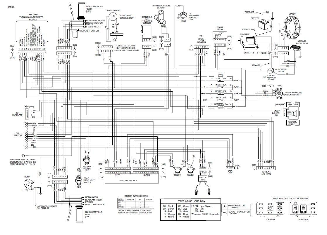 hight resolution of 1994 harley 883 sportster wiring diagram