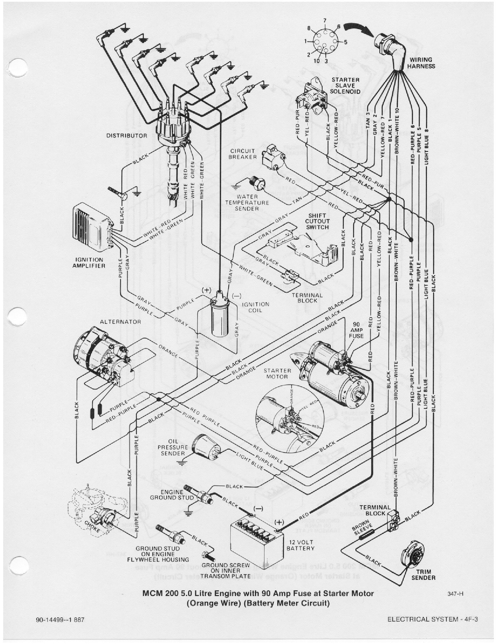 Mercruiser 5 7 Wiring Diagram