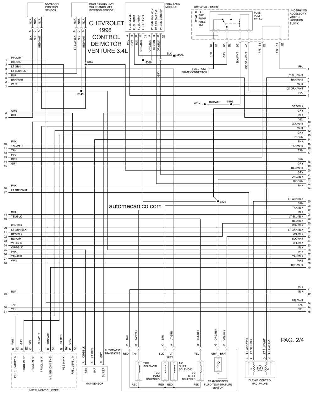 1998 jeep grand cherokee headlight wiring diagram