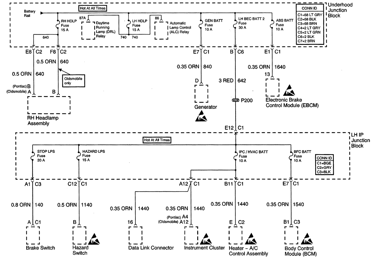 hight resolution of oldsmobile stereo wiring diagram
