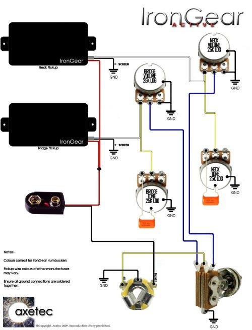 small resolution of 2 humbucker 1 volume 2 tone standard 5 way switch wiring diagram seymour duncan
