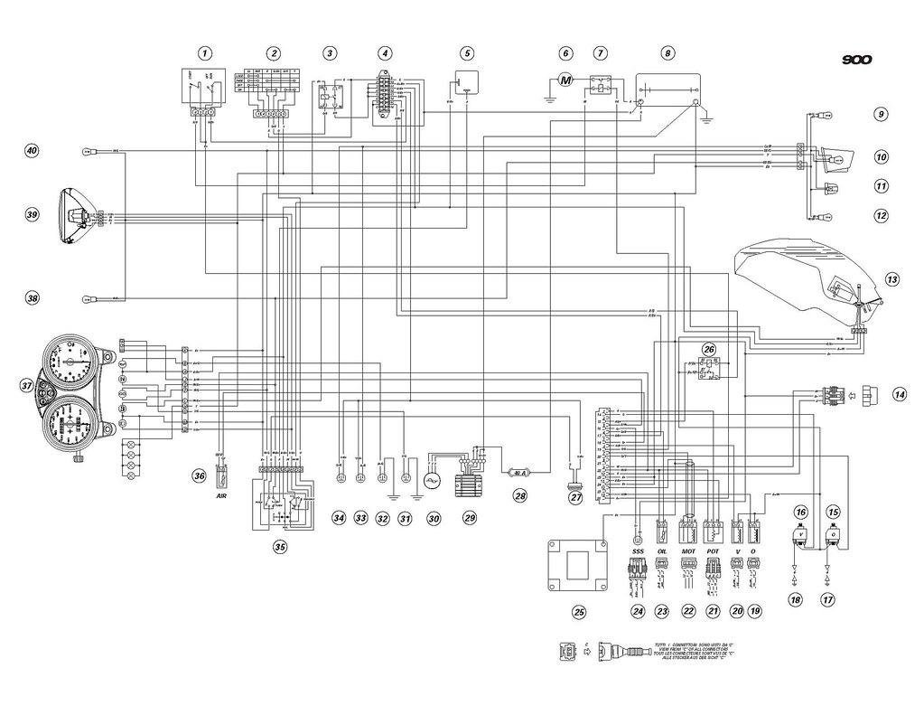 [DIAGRAM] Ducati Monster 900 Wiring Diagram FULL Version