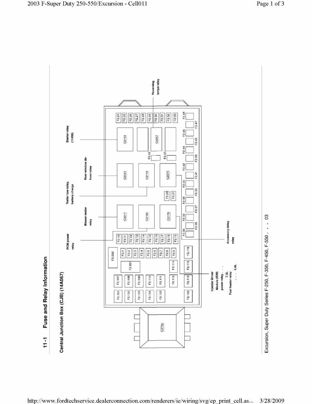 medium resolution of 2000 f350 diesel fuse box diagram