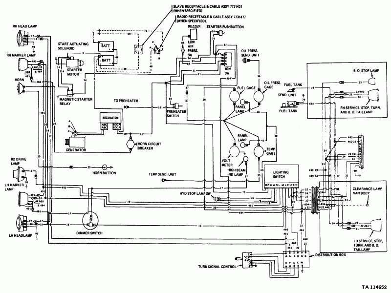 2000 Sterling L7500 Wiring Diagram