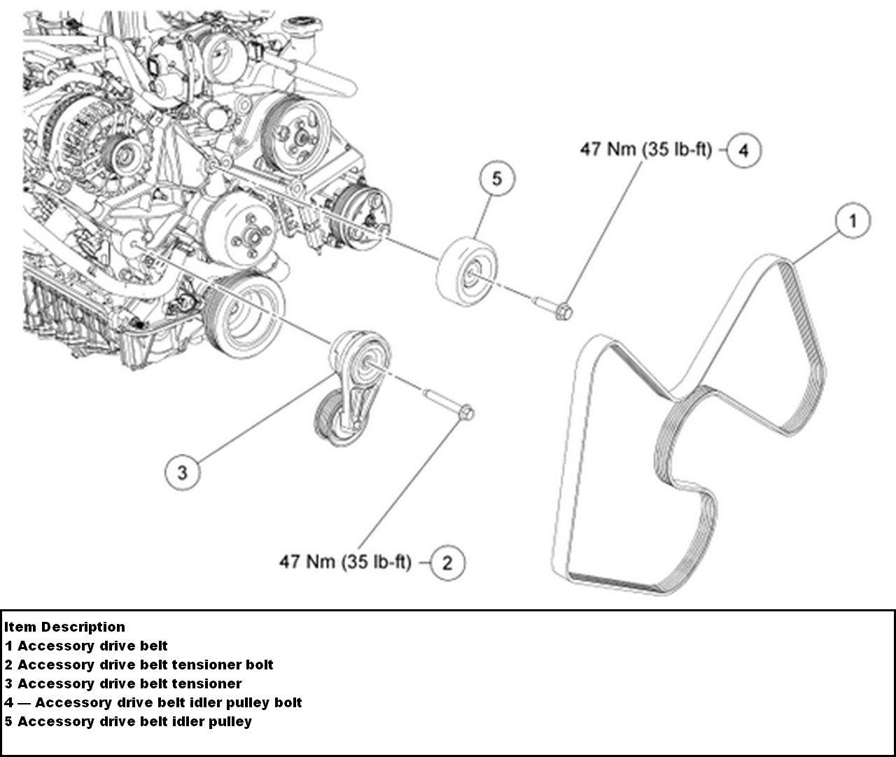 2001 Ford Escape V6 Serpentine Belt Diagram