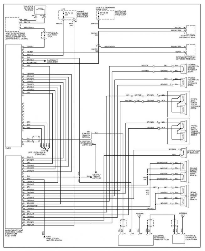 2001 mercedes c320 radio wiring diagram