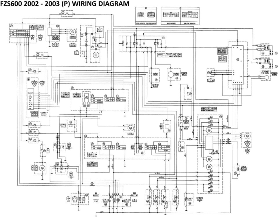 2001 Grand Marquis Wiring Diagram