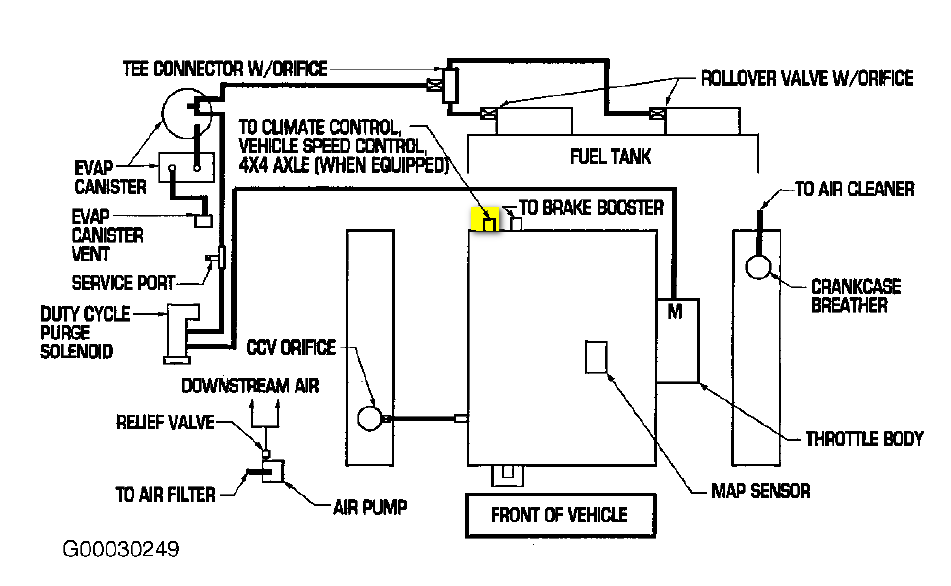 2002 Dodge Ram 1500 4.7 Vacuum Diagram