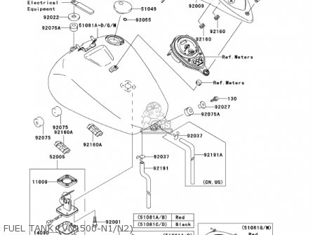 2002 Kawasaki Vulcan Classic 1500n Wiring Diagram