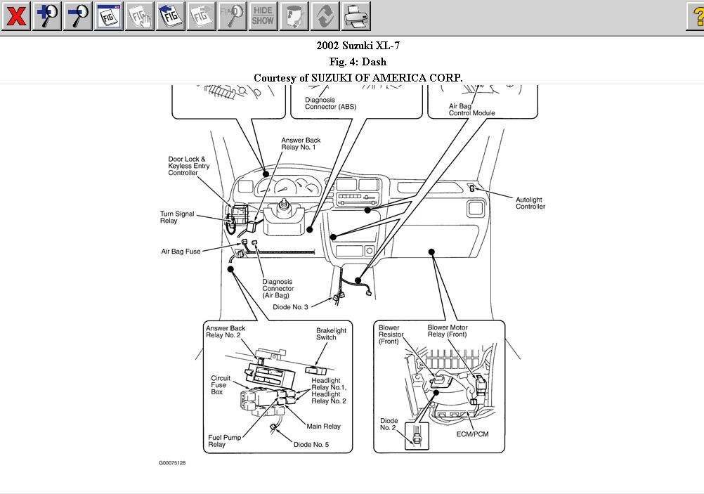 2002 Suzuki Grand Vitara Ac Compressor Wiring Diagram