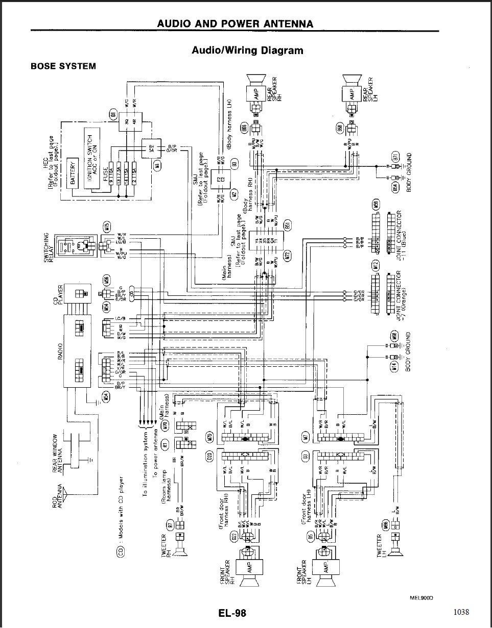 hight resolution of acura wiring diagram with bose