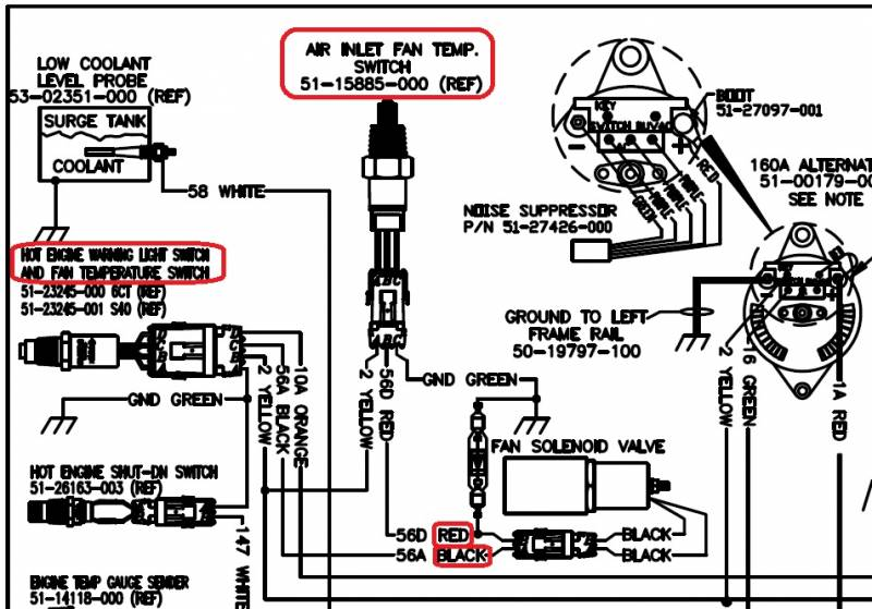 2004 American Coach Spartan Motorhome Chassis Wiring