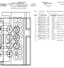 2004 thunderbird radio diagram [ 1280 x 720 Pixel ]