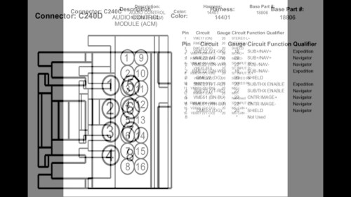small resolution of 2004 thunderbird radio diagram