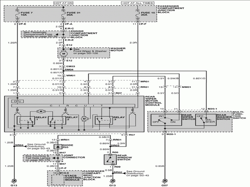 2004 Santa Fe Monsoon Wiring Diagram
