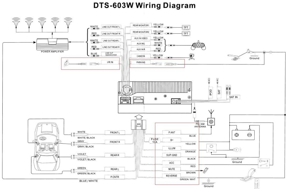 medium resolution of 2005 tacoma speaker wiring diagram