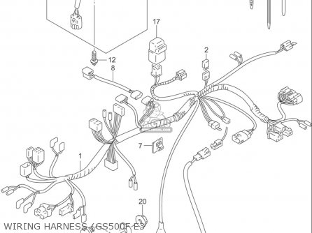 2005 Suzuki Gs500 Wiring Diagram