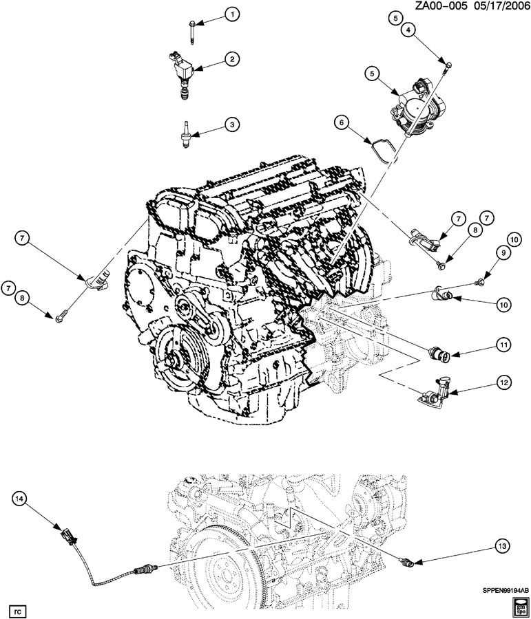 2007 Saturn Vue 2.2l Ecotec Engine Wiring Diagram