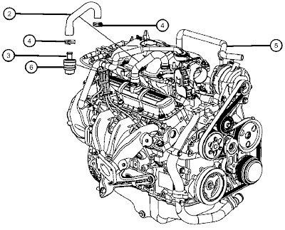 2008 Chrysler Town And Country Serpentine Belt Diagram