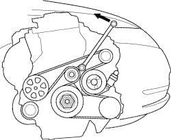 2009 Honda Cr V Serpentine Belt Diagram