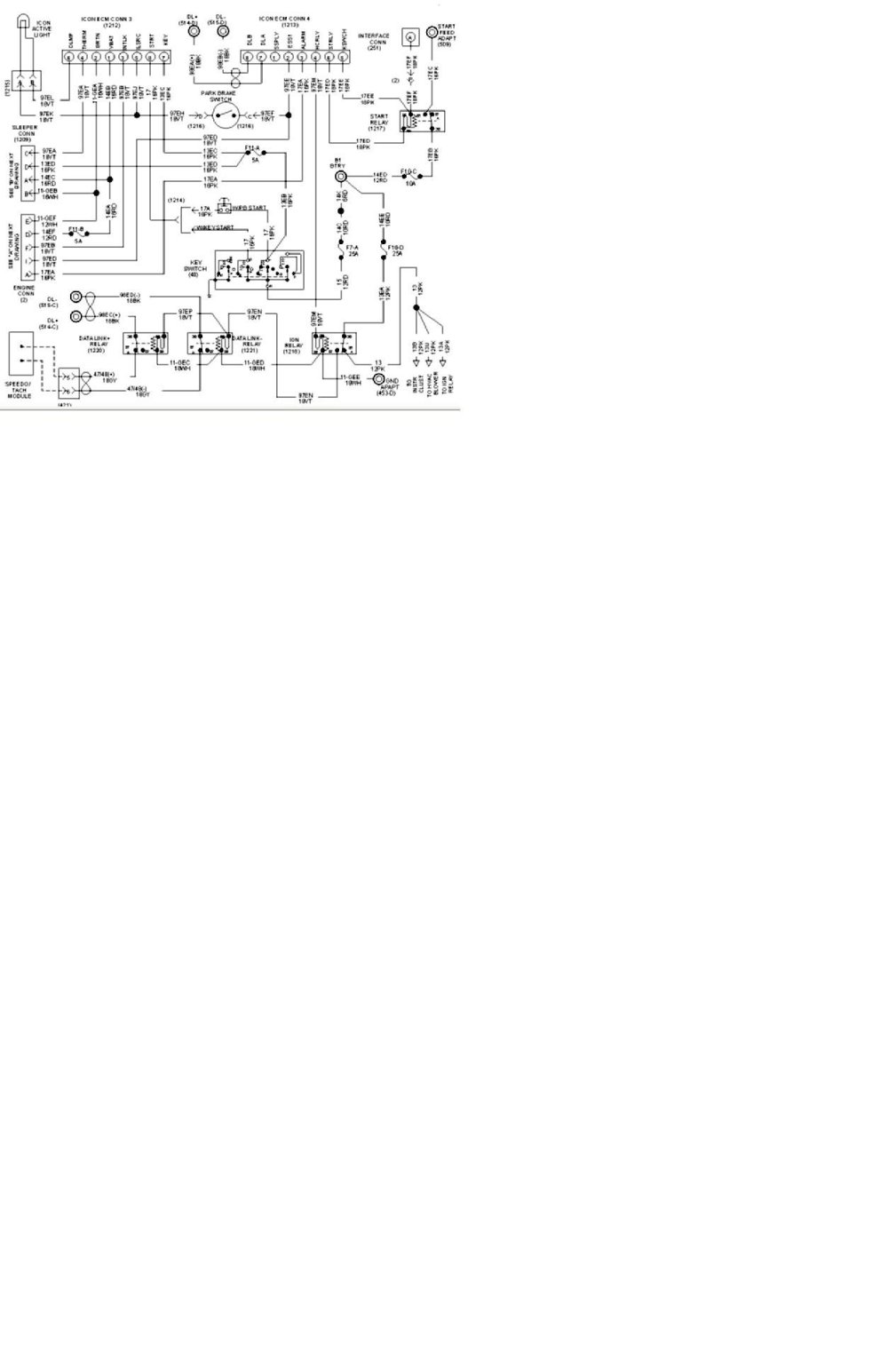 medium resolution of international prostar schematic