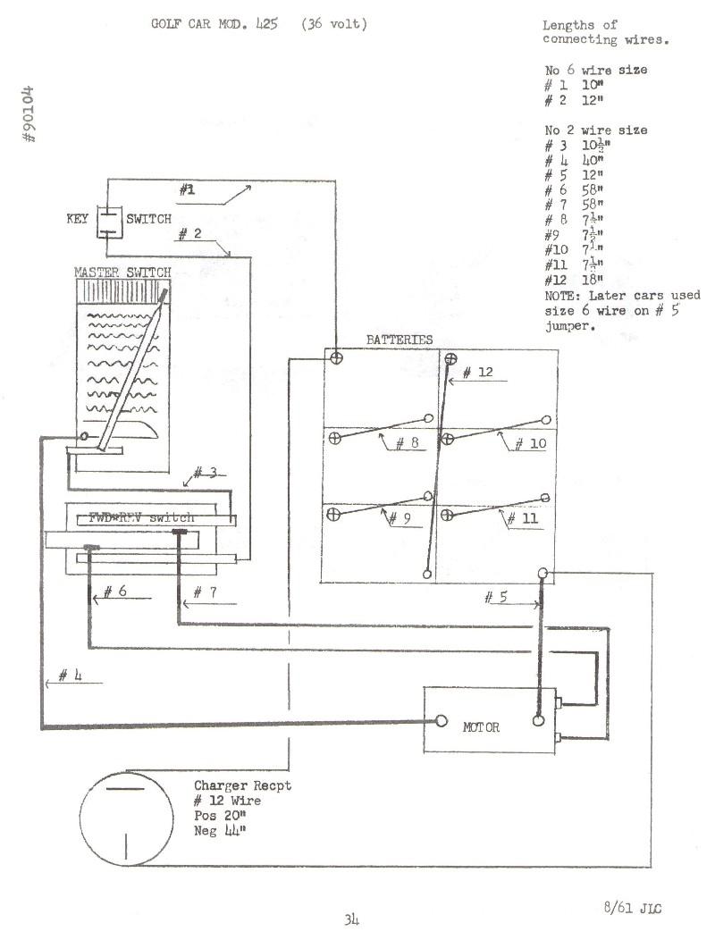medium resolution of 48v golf cart wiring diagram free picture