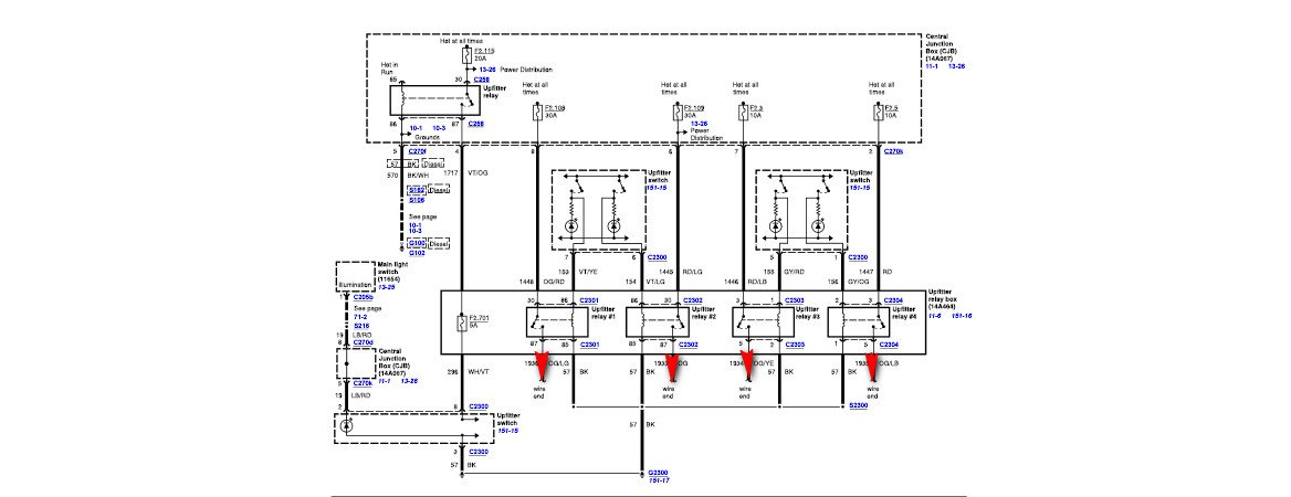 2015 F350 Upfitter Wiring Diagram