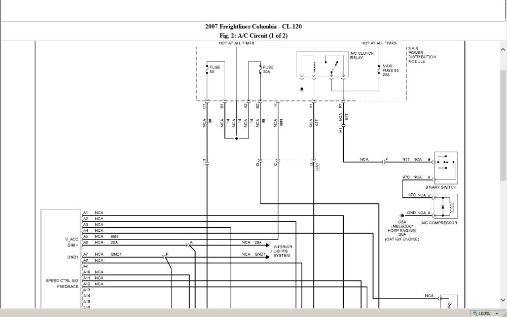 medium resolution of  freightliner 2018 freightliner cascadia fuse box diagram on freightliner cascadia wiring diagrams freightliner century wiring diagrams
