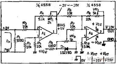 4 20ma To 0 10v Converter Circuit Diagram