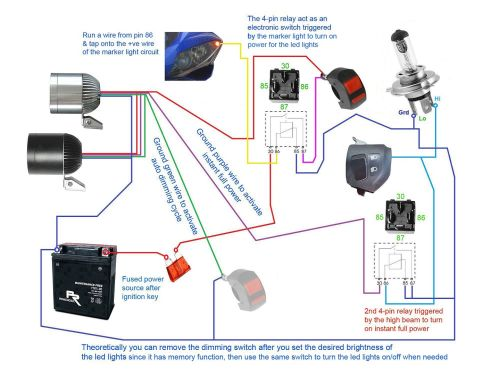 small resolution of fog light relay switch wiring diagram