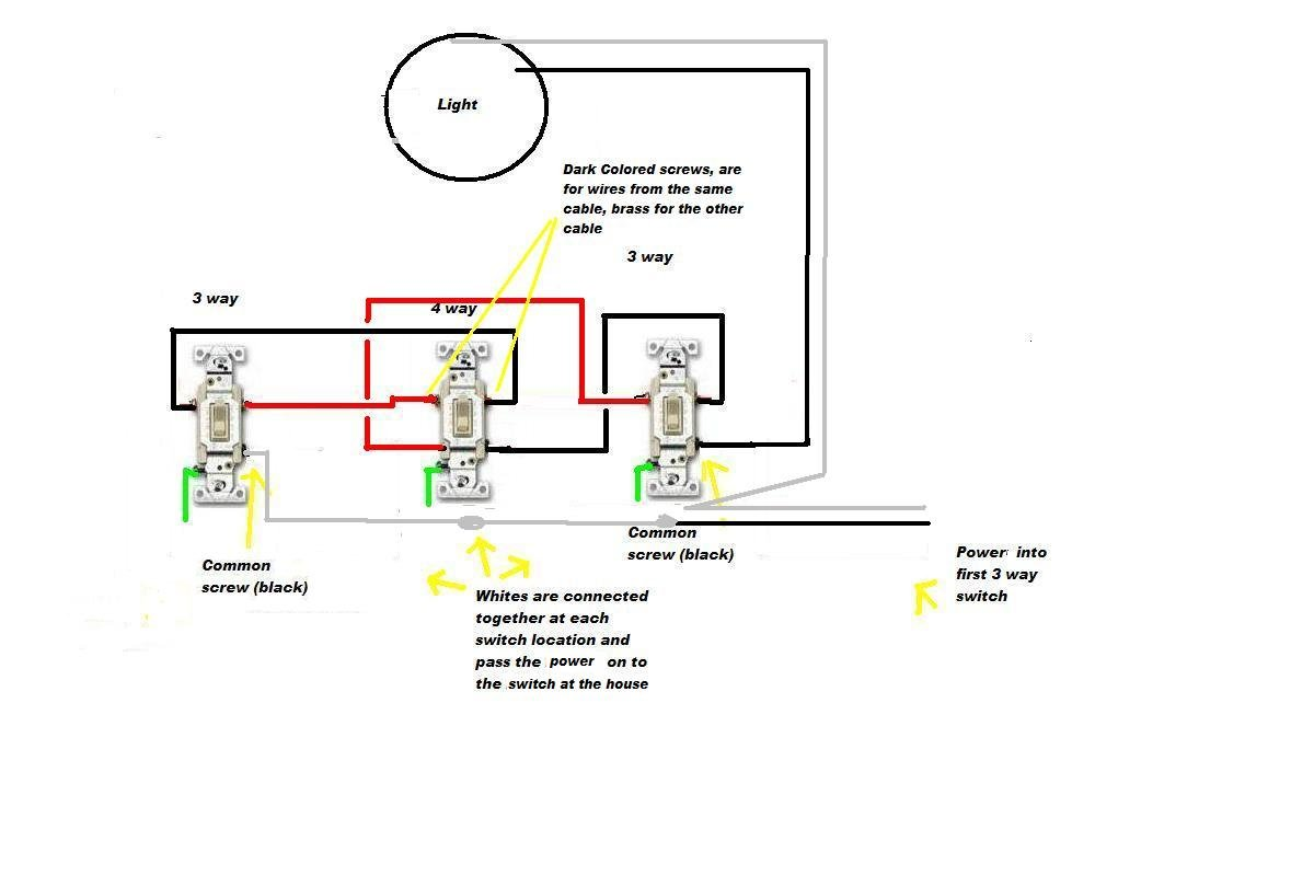 4 Pin Unbranded Fog Light Switch Wiring Diagram