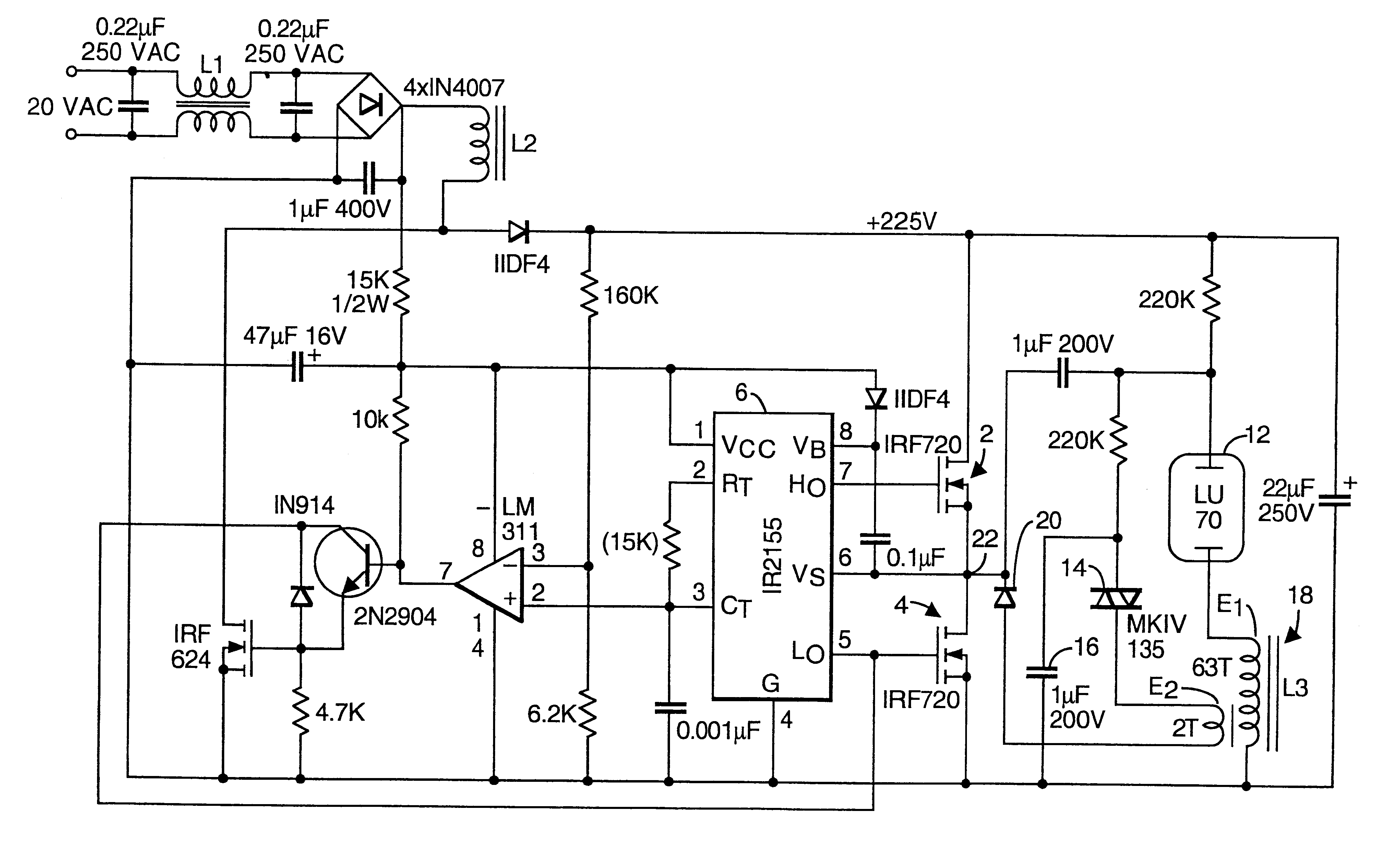 400w Metal Halide Ballast Wiring Diagram