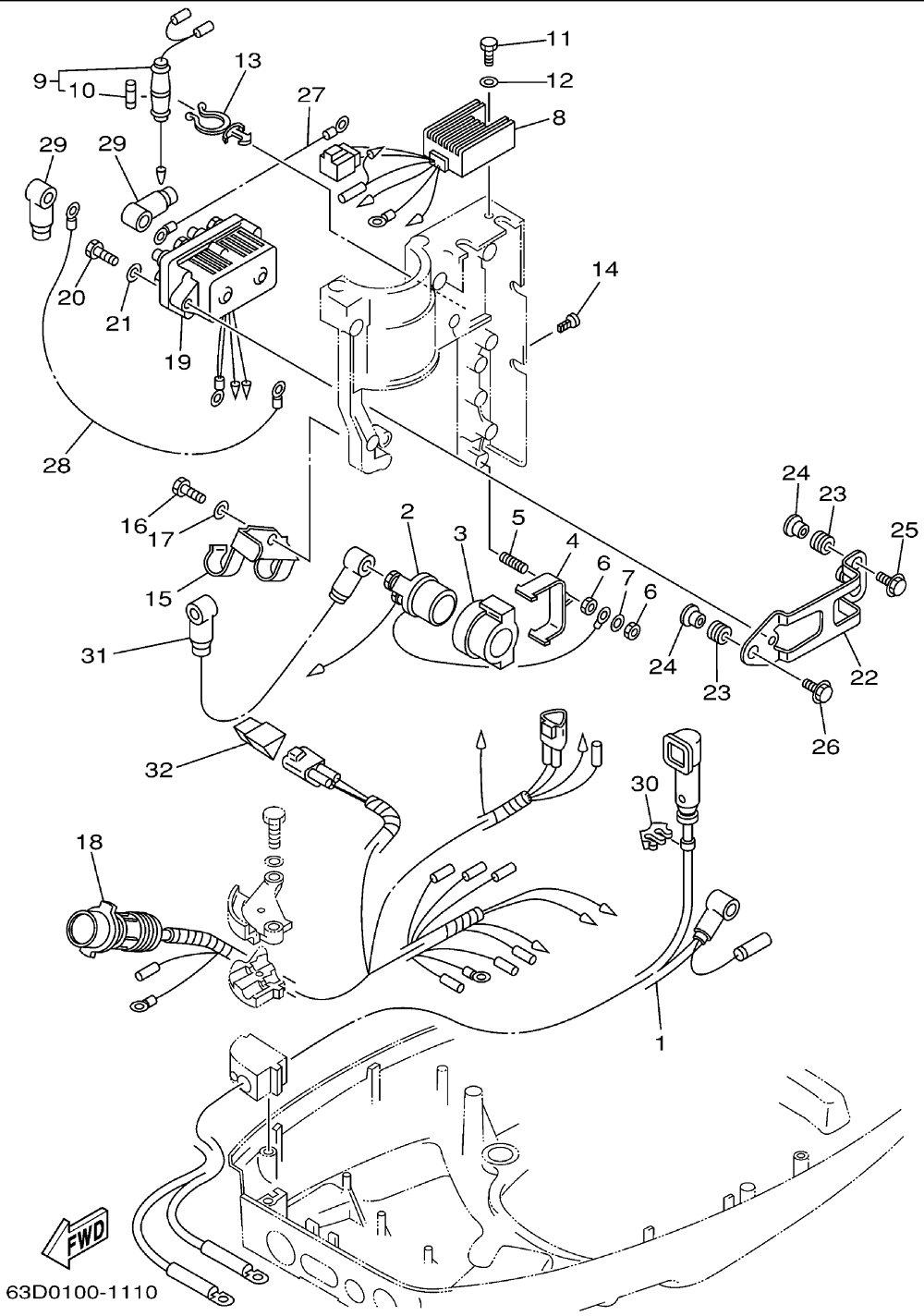 medium resolution of tilt relay 40 hp evinrude wiring diagram