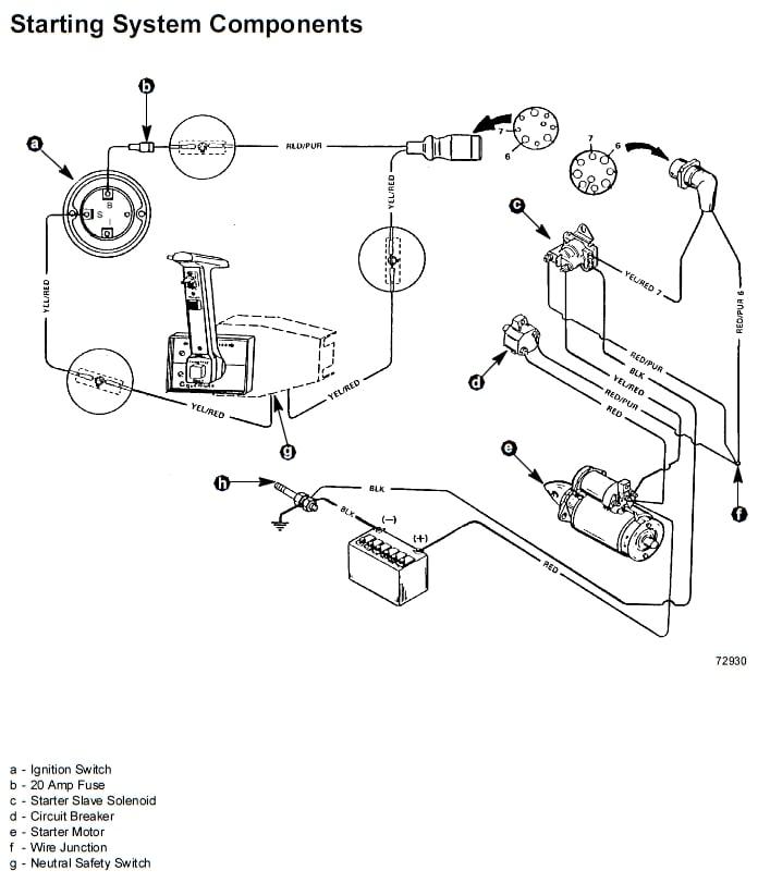 mercruiser 3.0l engine wiring diagram