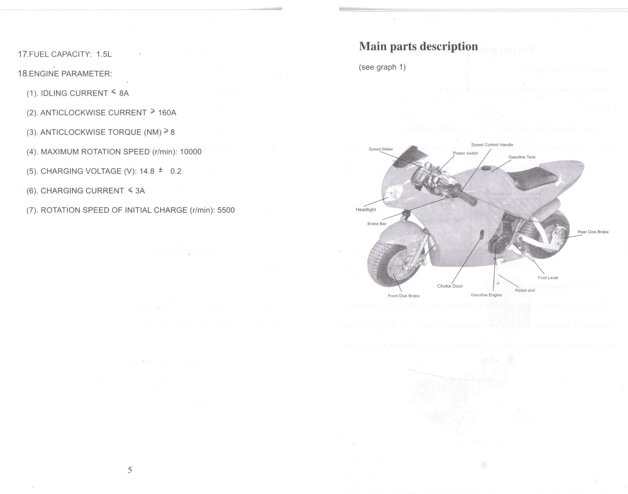 hight resolution of cat eye pocket bike wiring diagram