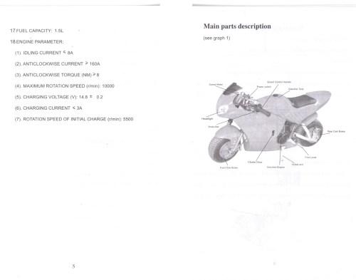 small resolution of cat eye pocket bike wiring diagram