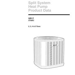 Wiring Diagram Trane Split System Square D 480v Transformer 4mxw