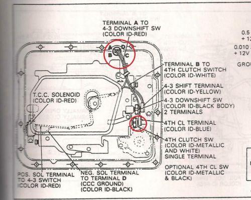 small resolution of 700r4 lockup wiring diagram