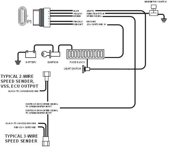 700r4 Aftermarket Speedometer Wiring Diagram