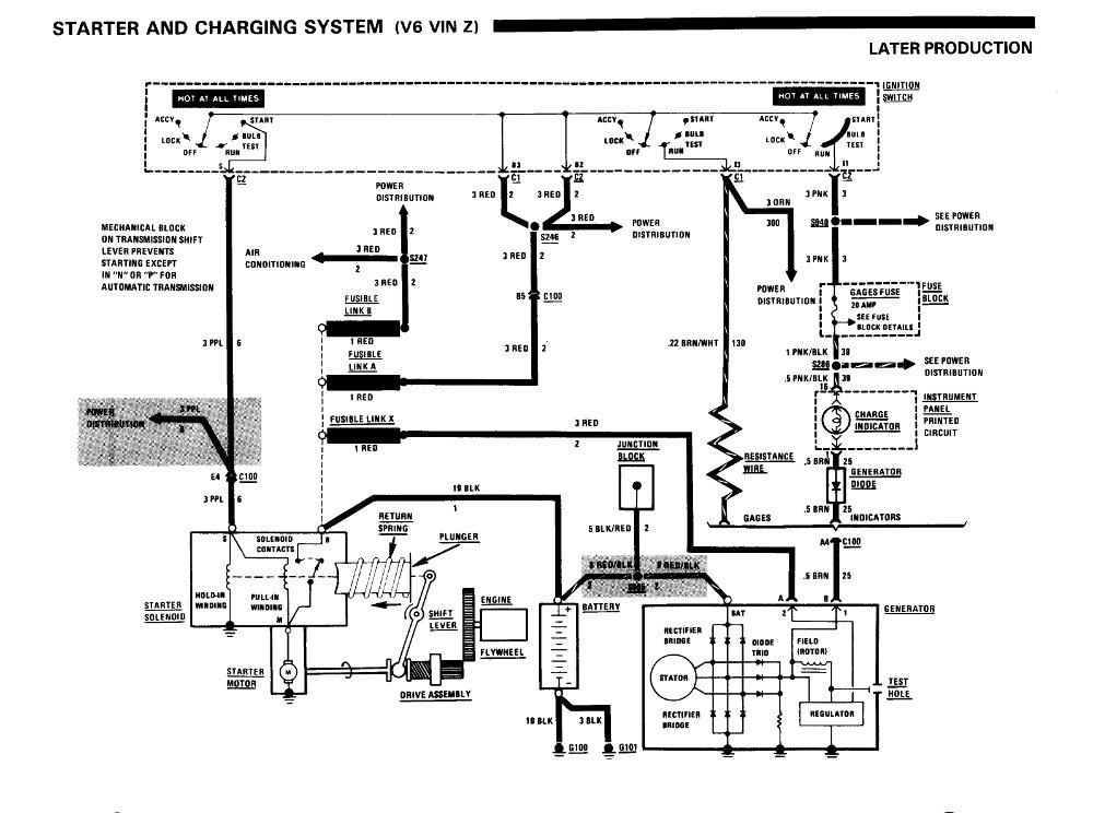 86 K100e Dash Wiring Diagram