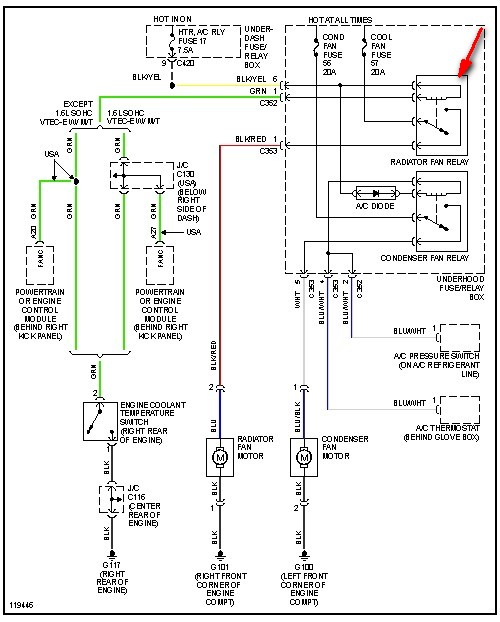 99 9200 Fan Switch Wiring Diagram