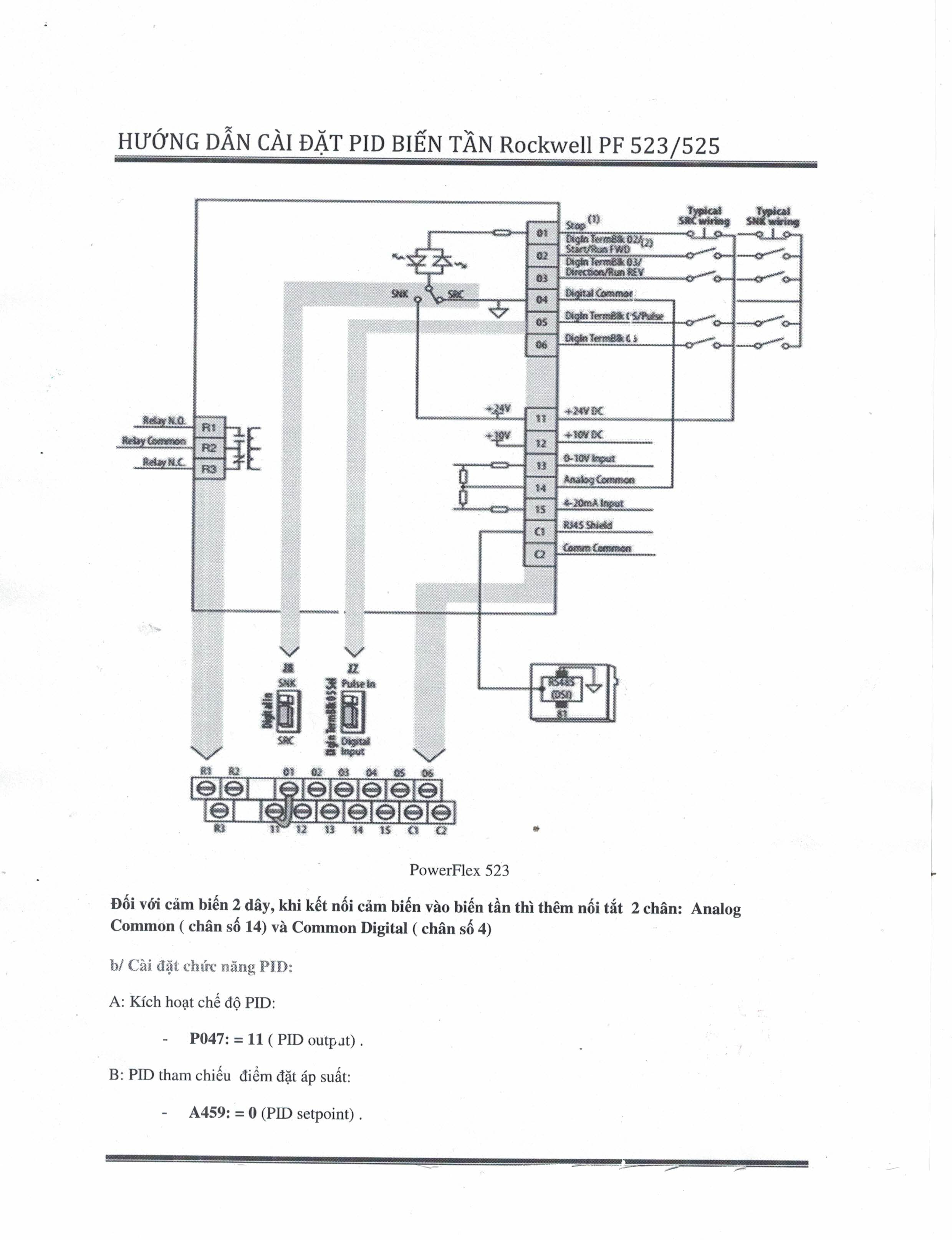 Allen Bradley Powerflex 400 Wiring Diagram