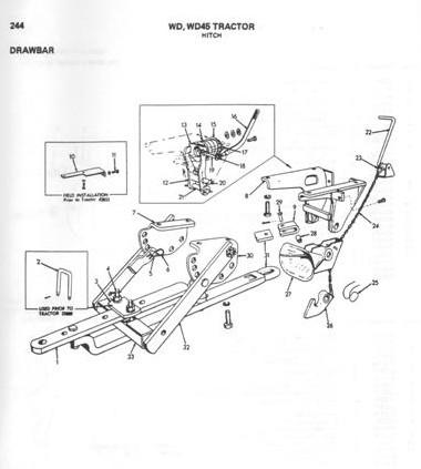 Allis Chalmers Wd 6 Volt Wiring Diagram