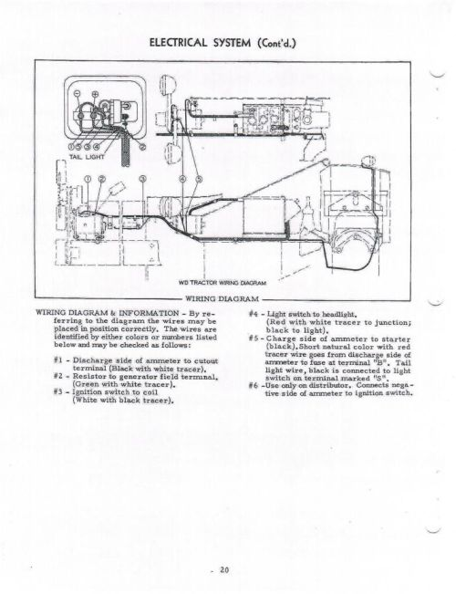 small resolution of wiring diagram for alli chalmer b