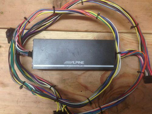 small resolution of alpine amp wiring harnes