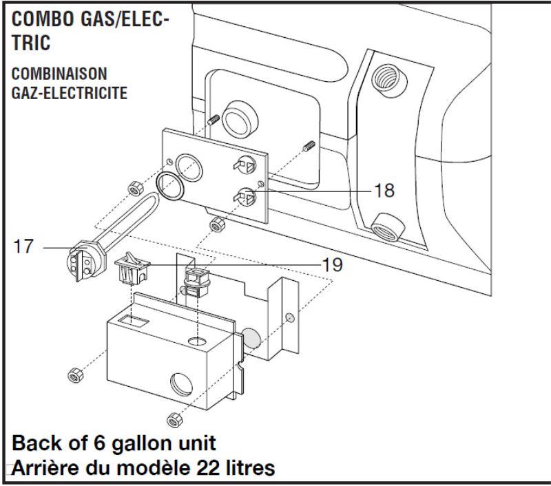 Atwood Gc6aa-10e Parts Diagram