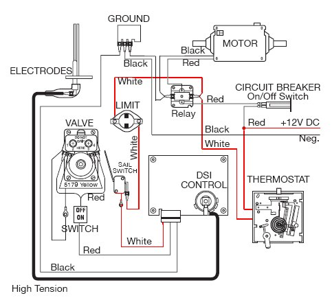 Atwood Model 8940 Wiring Diagram